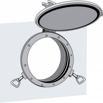 Система сигнализации открытия иллюминаторов